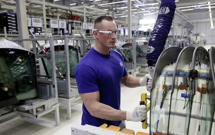 """It seems as if Volkswagen logistics staff are using Google Glass for work. It certainly looks that way, with the car company issuing what it describes as """"3D smart glasses"""" to a number of employees following a successful three-month trial."""