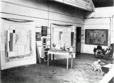 Ben Nicholson's Porthmeor studio, St Ives.