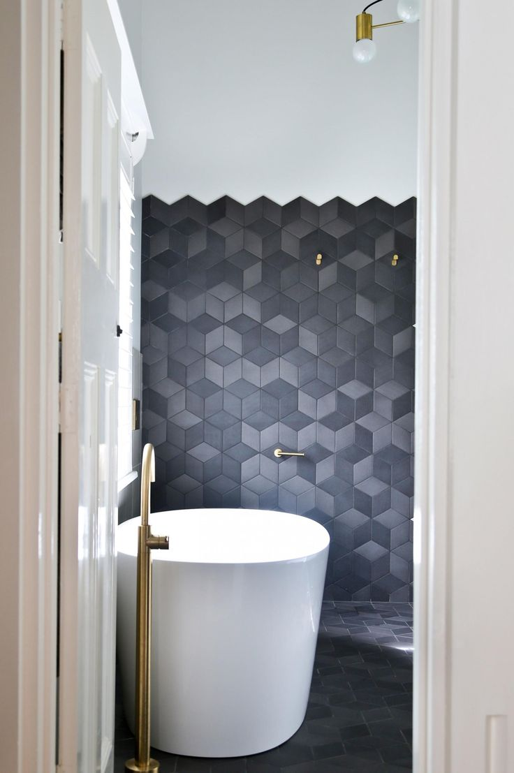 Showers and bathrubs that amp up the style factor. Photography by Kate Elmes. Designed by Fabrikate Creative Spaces (fabrikate.com.au).