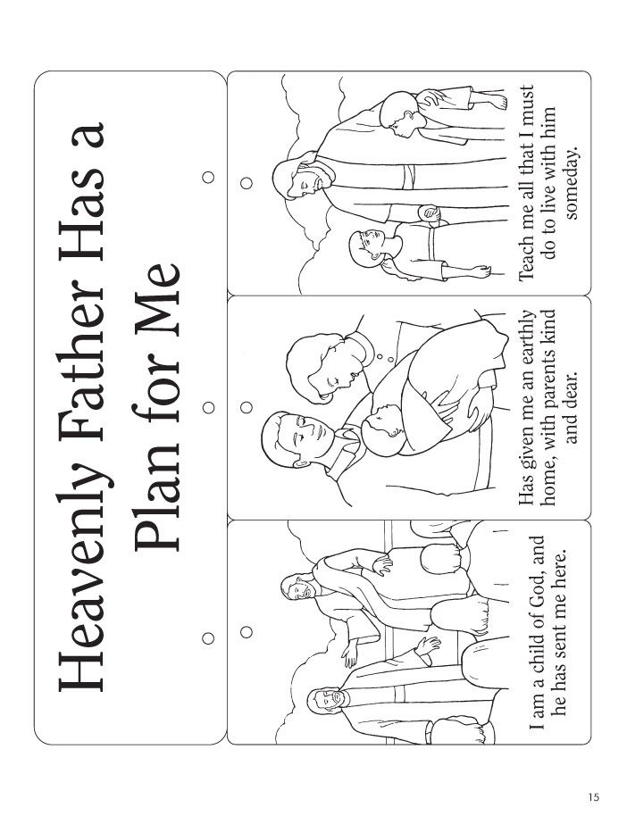 abcs of salvation coloring pages - photo #26