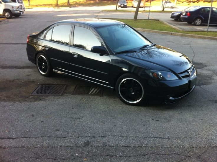 Best 20 honda civic rims ideas on pinterest honda civic for All black honda civic