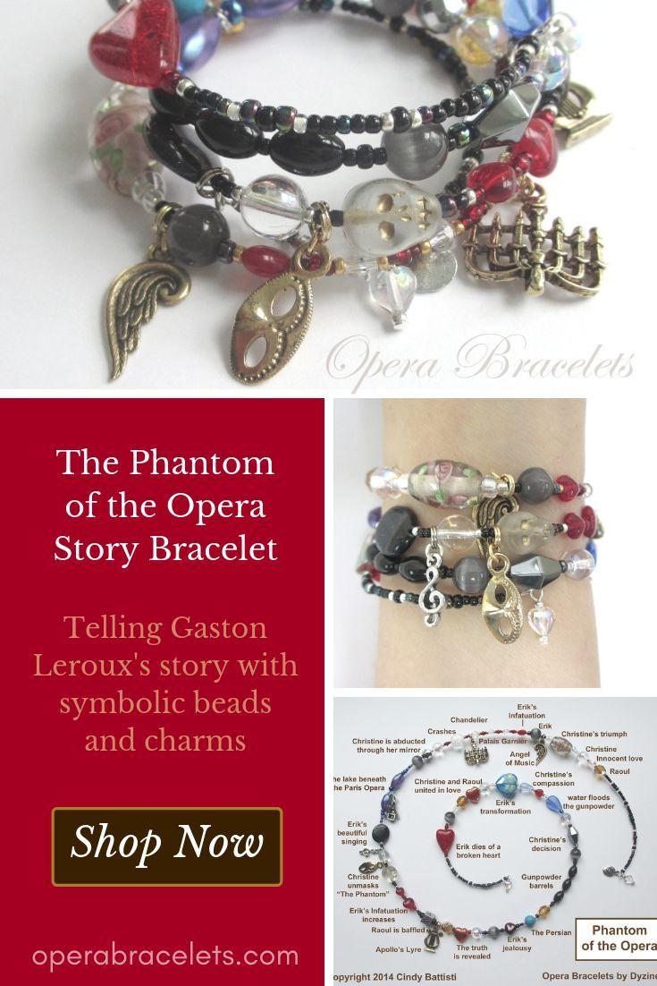 The Phantom of the Opera Bracelet   Valentine Gift Ideas