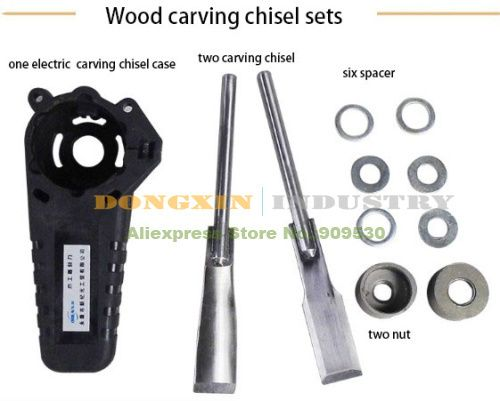 Electric Wood carving chisel sets Woodworking tool