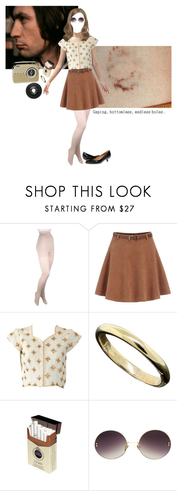 """her first everything"" by magickofthelema ❤ liked on Polyvore featuring Gabrialla, Tiffany & Co., Linda Farrow, Isaac Mizrahi and vintage"