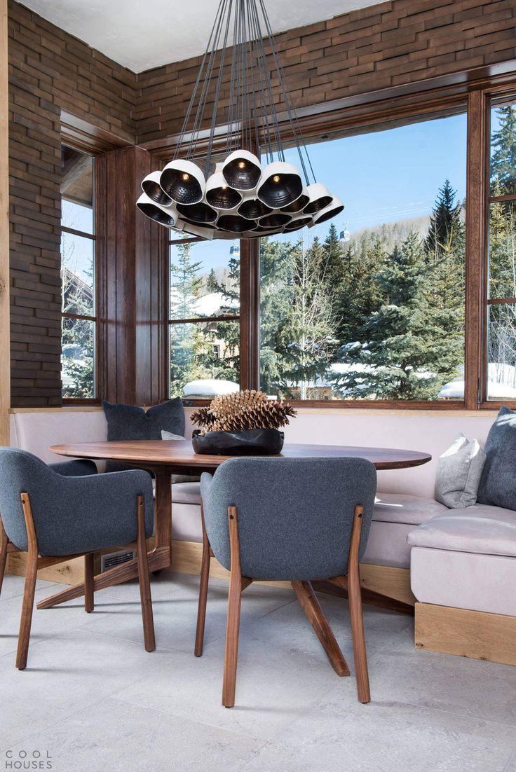Шале в горнолыжном курорте Вейл, штат Колорадо, США.-9