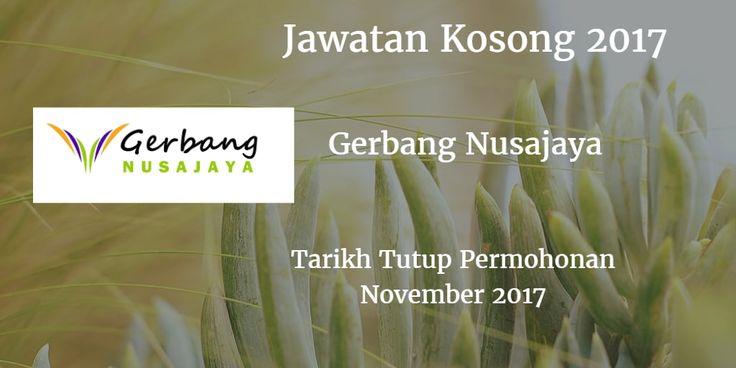 Jawatan Kosong Gerbang Nusajaya November 2017
