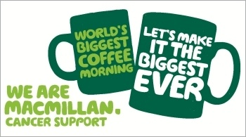 World's Biggest Coffee morning #macmillan cancer support
