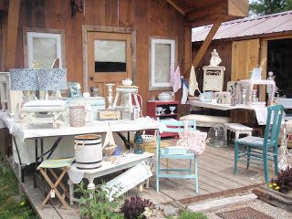 Shabby Chic's and Antiques: Spring Cleaning getting ready for another season.