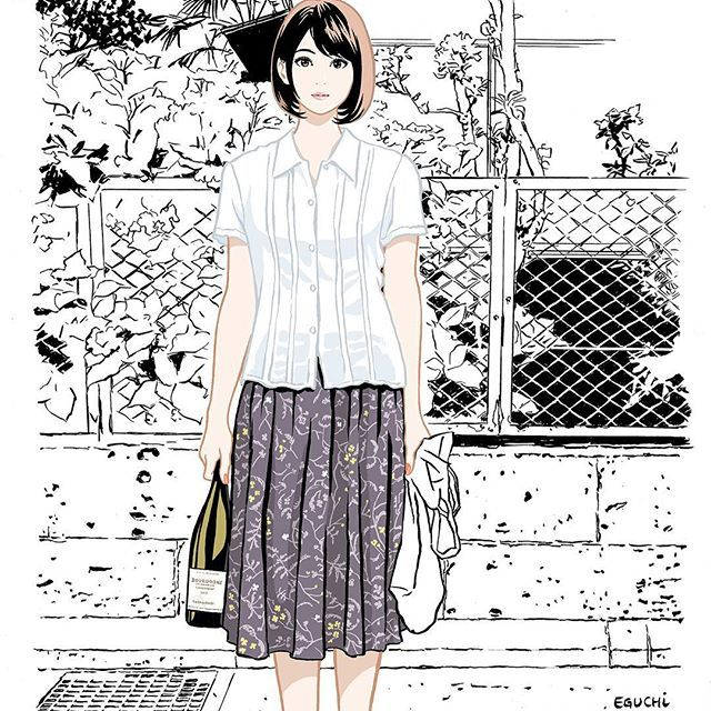 Jun.2017 #illustlation #artwork #realwineguide #wine #bandedessinee #comicart