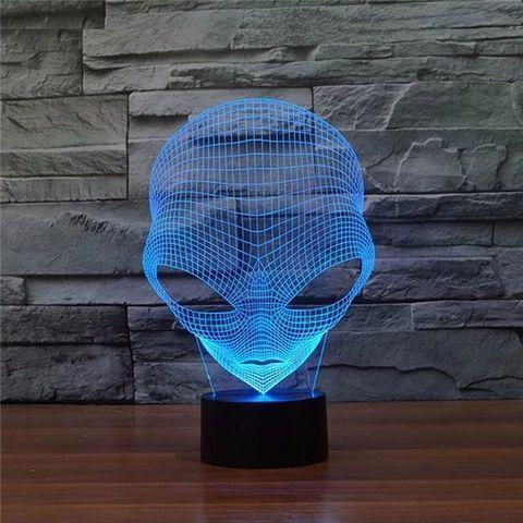 Alien 3D LED Lamp