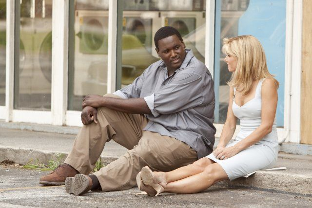 The Blind Side (2009) The story of Michael Oher, a homeless and traumatized boy who became an All American football player and first round NFL draft pick with the help of a caring woman and her family.  Sean Tuohy: We were wondering if you would like to become a part of this family.  Michael Oher: I kinda thought I already was.