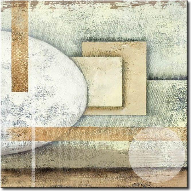 Cuadro decorativo Colores suaves – este cuadro moderno ¡nos encanta! Queda bien tanto en el dormitorio como en el salón.