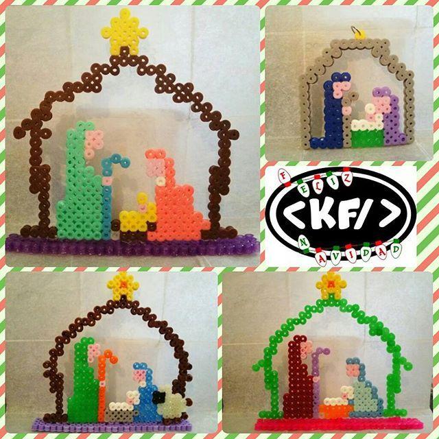 Nativity hama beads by kioscofriki