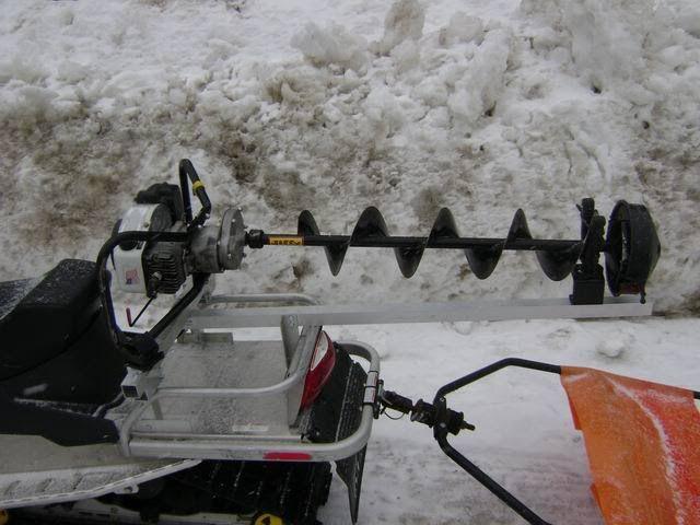 Snowmobile Auger Rack?