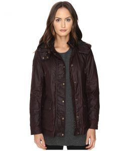 BELSTAFF New Tourmaster Signature 6 oz. Wax Cotton Coat (Rosewood) Women's Coat
