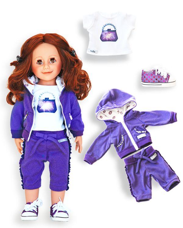 Weronika i jej specjalny zestaw ubrań / Veronica and her special set of clothes.