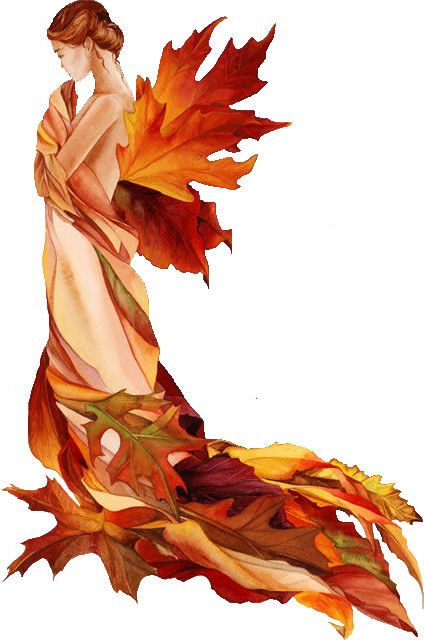 fall fairy- I'd like to have a doula logo like this but with a pregnant belly