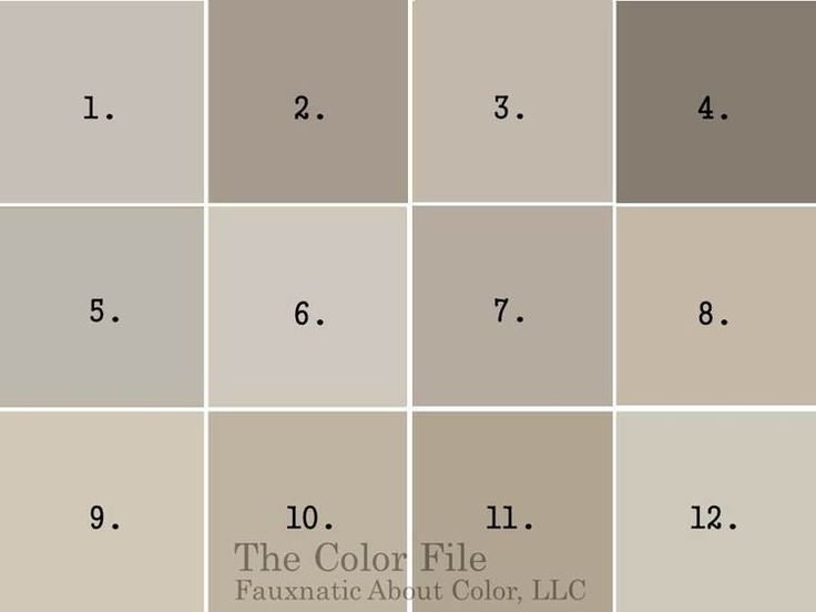 Top 12 Favorite Gray Paint Colors :: The Color File, Fauxnatic About Color, LLC