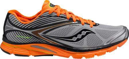 (30% Off) Men's Saucony Kinvara 4 ViZiGLO – Silver/Viziorange/Citron Running Shoes  http://www.myrunningdeals.com/shop/men/mens-saucony-kinvara-4-viziglo-silverviziorangecitron-running-shoes