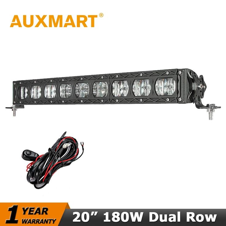 118.00$  Watch now - http://aliihy.worldwells.pw/go.php?t=32624675611 - Auxmart CREE Chips 180W LED Light Bar 20 inch Led Bar Offroad 12V 24V Truck Camper 4WD Tractor Trailer 4X4 Low Beam/Full Light 118.00$
