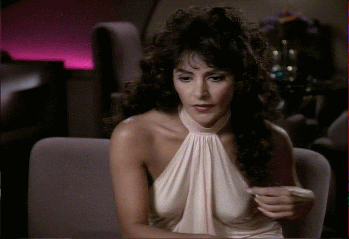 Marina Sirtis As Deanna Troi  Hot  Deanna Troi, Marina -7178