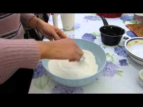 VEGAN | TORTA LIGHT al The cocco e vaniglia,senza uova,senza burro,senza latte,senza glutine - YouTube