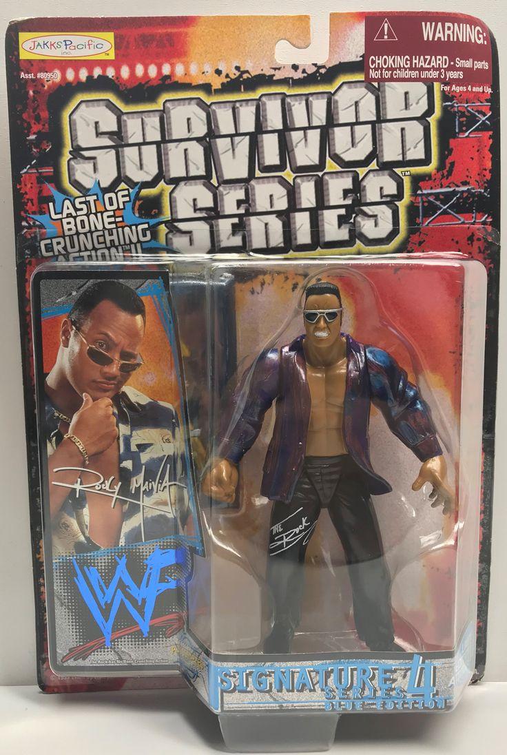 TAS039041 - 1999 Jakks WWE Survivor Series - Series 4 Figure - The Rock