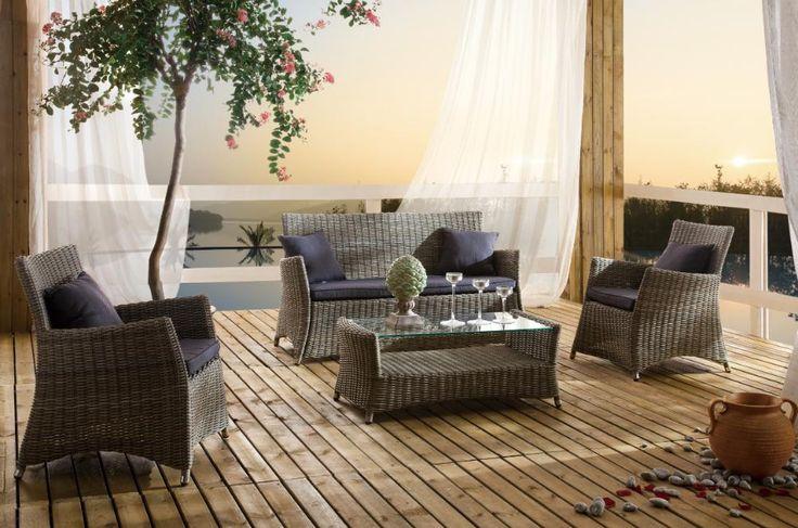 Exklusive Gartenmobel Gebraucht : Destiny Lounge Kubo Loungeset 4 teilig Gartenmöbelset  Vorschau 1
