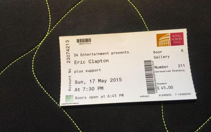 Urodziny Eric'a Clapton'a, czyli jak wkręcić się na imprezę w Royal Albert Hall / How to slipped into Royal Albert Hall for ERIC CLAPTON's Birthday Party