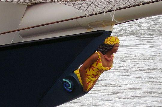 L'Antigua : Figures de proue - Linternaute.com Mer et Voile