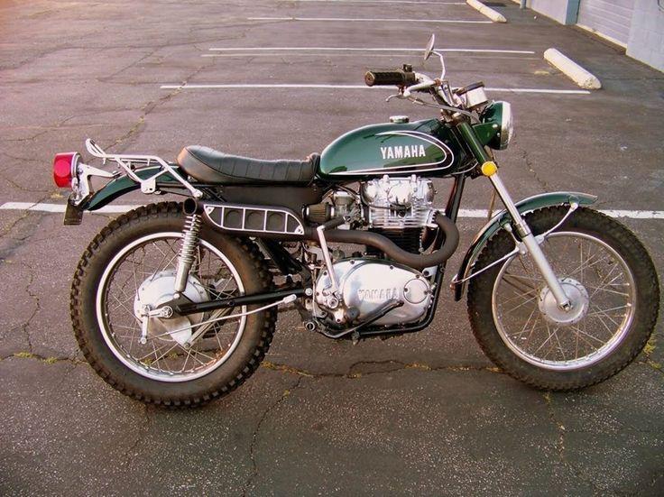 vintage Yamaha Trail Enduro