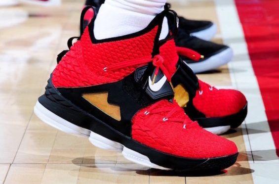 buy popular 5275a d87dc Nike LeBron 15 Red Diamond Turf Debuting This Summer | Dr ...