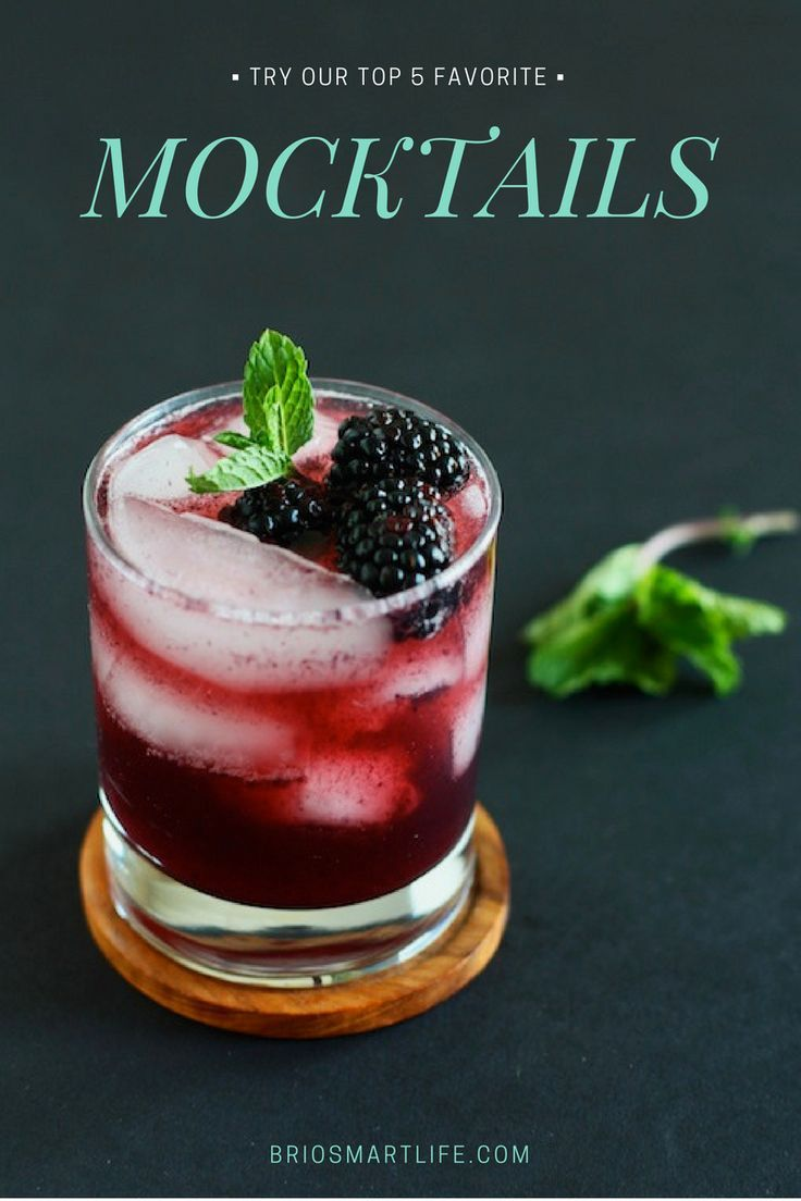 These five fantastic mocktails are so good you won't even care that there's no alcohol in them… #DryJanuary mocktails