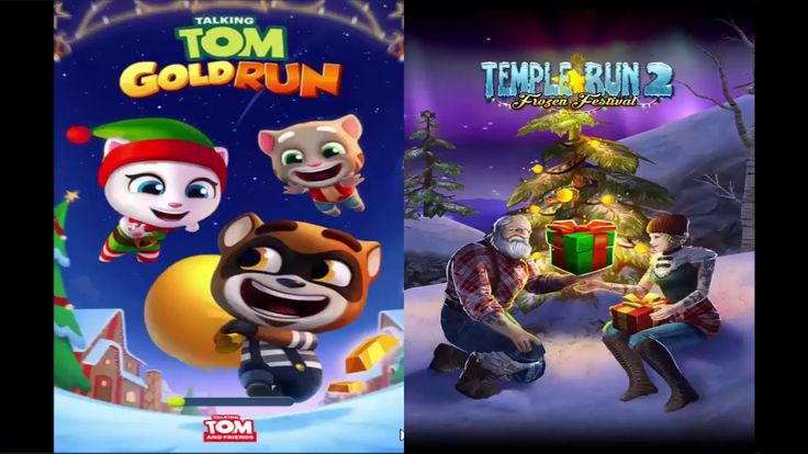 Talking Tom Gold Run Vs Temple Run 2 Skymit Ipad Gameplay HD 2018/Games ...