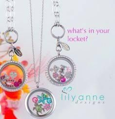 What's in your locket? Let lily anne designs help you design a personalised Locket for yourself or someone special.