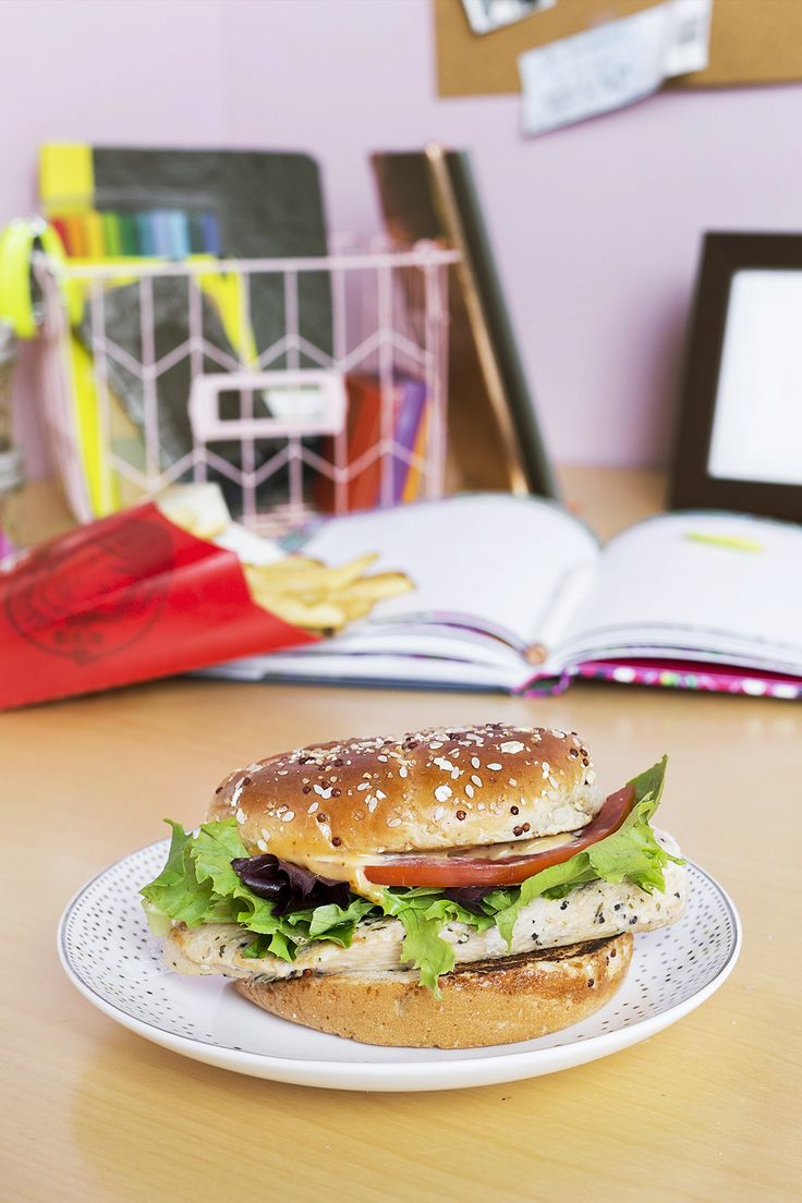 Our Grilled Chicken Sandwich has been completely renovated, straight from  our desk to yours. Drink RecipesHealthy ...