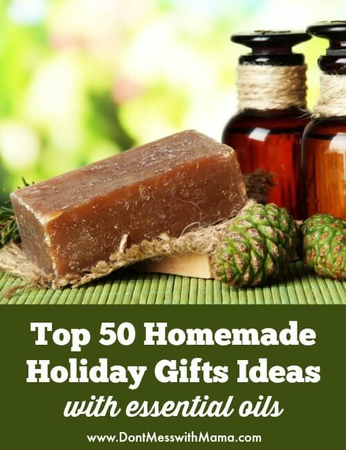 50 DIY Christmas Gift Ideas – Homemade Gifts with Essential Oils
