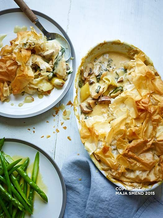 Celebrate British Pie with The Body Coach Joe Wicks' delicious chicken pie recipe from his bestselling Lean in 15 cookbook