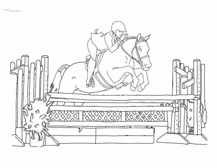 Ausmalbilder Pferde Springreiten Ausmalbilder Pferde Ausmalbilder Pferde Zum Ausdrucken Pferdezeichnungen
