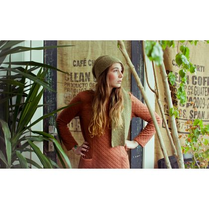 Red Orange Casual Cotton Dress #boho   Made In Spain Via Made And More