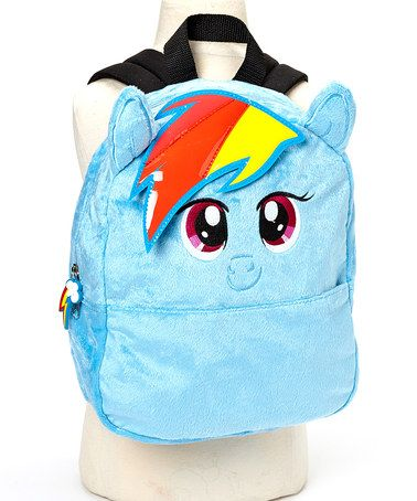 Take a look at this My Little Pony Rainbow Dash Backpack by FAB*Starpoint on #zulily today!