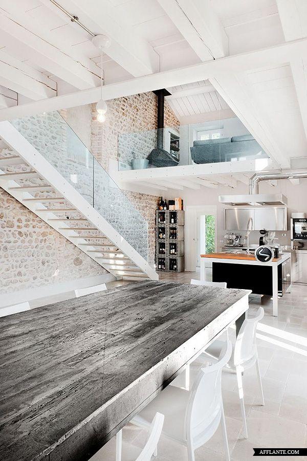 An Italian villa interior house design architecture interior design office