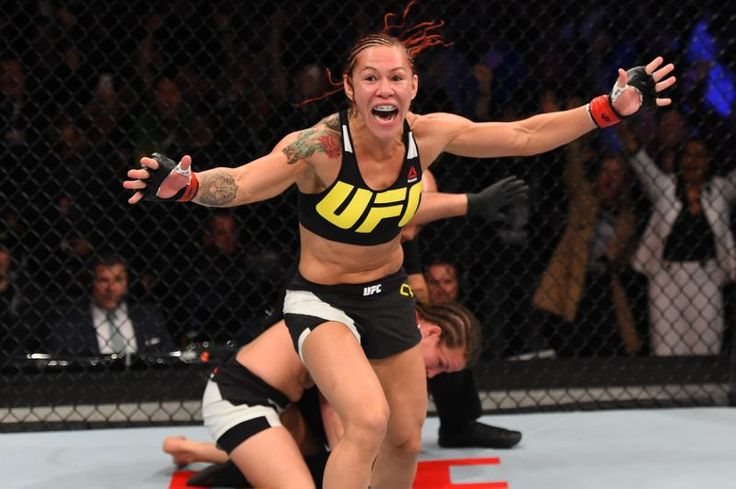 Cris 'Cyborg' Justino weighed 165 pounds on Monday, leaving her 25 pounds to cut…