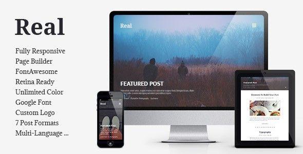 REAL v1.3.1 – Responsive Blog WordPress Theme - http://www.freescriptz.co.uk/real-v1-3-1-responsive-blog-wordpress-theme/ #Blog, #Real, #Responsive, #Theme, #Wordpress