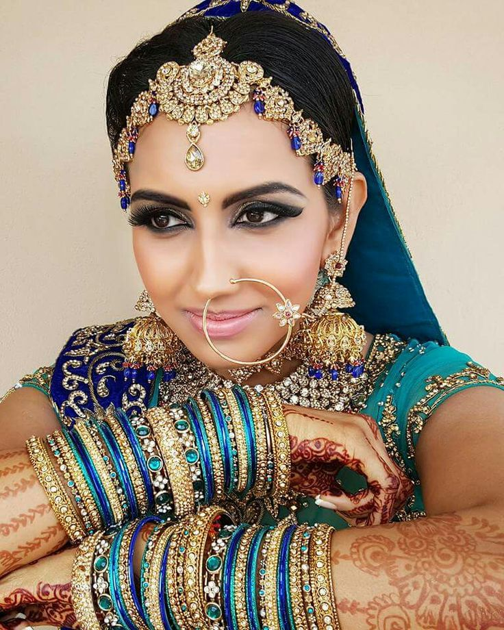 Indian Bridal trends from our styling house. #markandclint #mua #durban #followme #duhlan