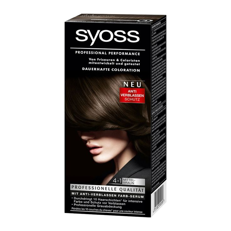 Syoss Color Classic 4-1 medium brown offers an intensive, long lasting color result and professional gray cover in salon quality. Ultra-concentrated micro-color particles penetrate 10 layers of hair for maximum color intensity and anti-fading protection. Professional Performance – Developed with and tested by hairdressers The high performance formula seals the professional color-intense pigment mix deep …