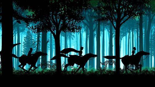 Lotte Reiniger's fairytale silhouettes | Viola.bz