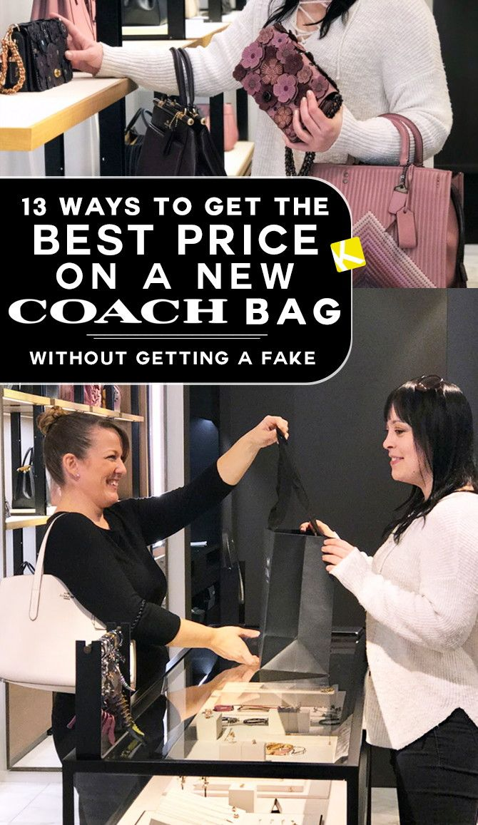 7b9689b0f539 13 Ways to Get the Best Price on a New Coach Bag — Without Getting a Fake - The  Krazy Coupon Lady