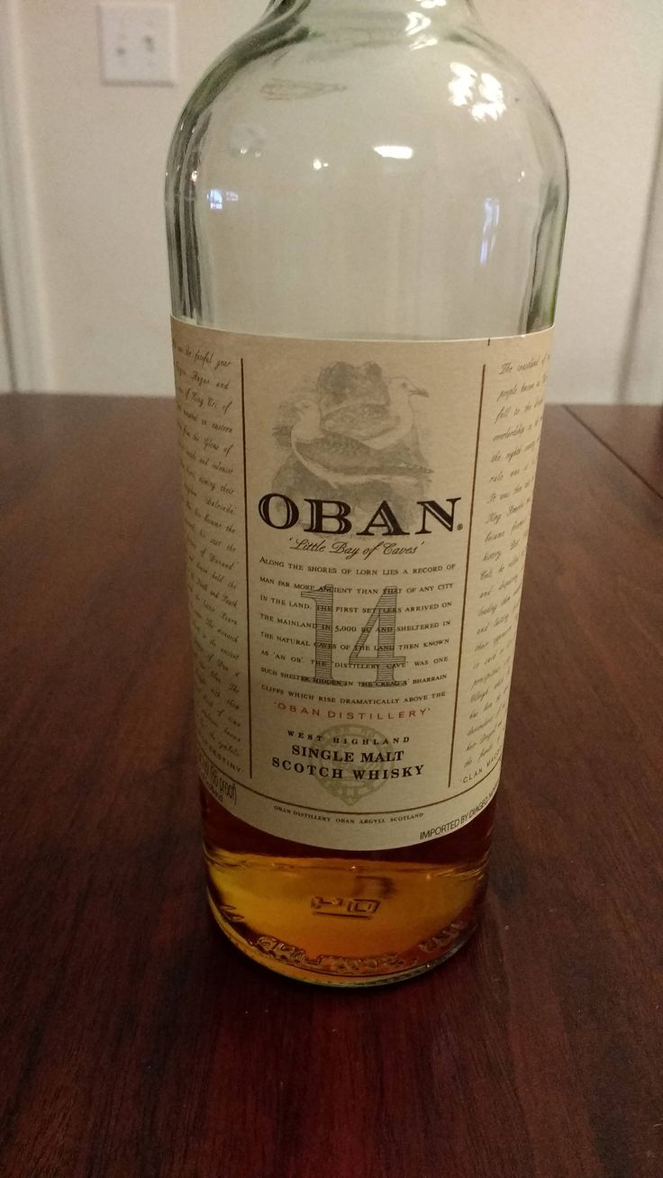 Review #1 : Oban 14 #scotch #whisky #whiskey #malt #singlemalt #Scotland #cigars