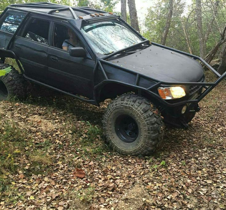 monster off-road Subaru Outback